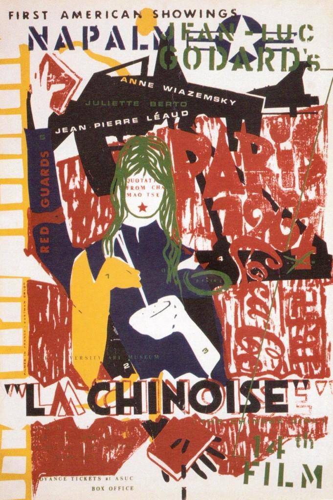 La chinoise Godard poster affiche